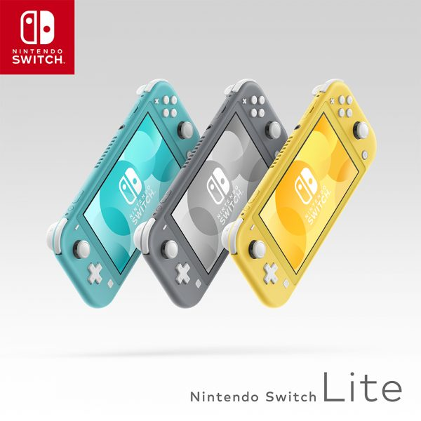 【予約受付スタート!!】9/20(金)発売!! 「Nintendo Switch Lite イエロー/グレー/ターコイズ」各色予約受付中!!!(=゚ω゚)ノ