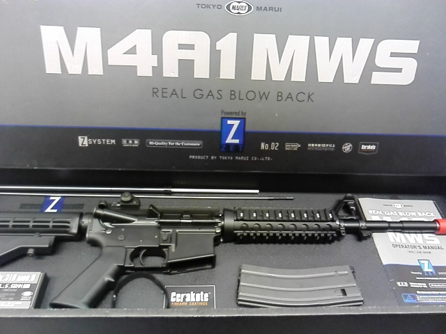 10/19 エアガン買取情報!!~M4カービン強化プログラムによる、現用米軍火器の決定版!「M4A1 MWS」買取させて頂きました!!~【#メディオ!沖新店】