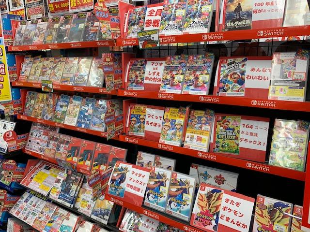 ニンテンドースイッチ『各種』好評販売中です!!(=゚ω゚)ノ