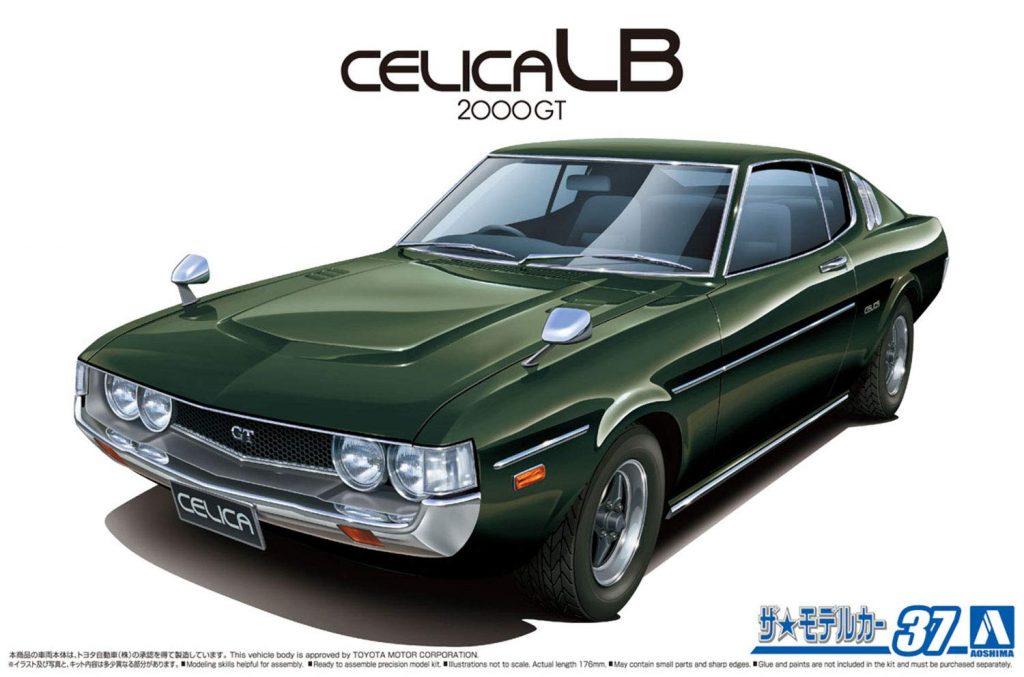 「1/24 トヨタ RA35 セリカLB 2000GT 1977」入荷