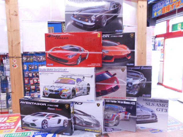 リアルスポーツカーシリーズ 再入荷しました!
