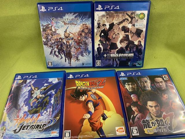 PS4なゲームソフト買い取りました!本日はポイント2倍!!です(=゚ω゚)ノ