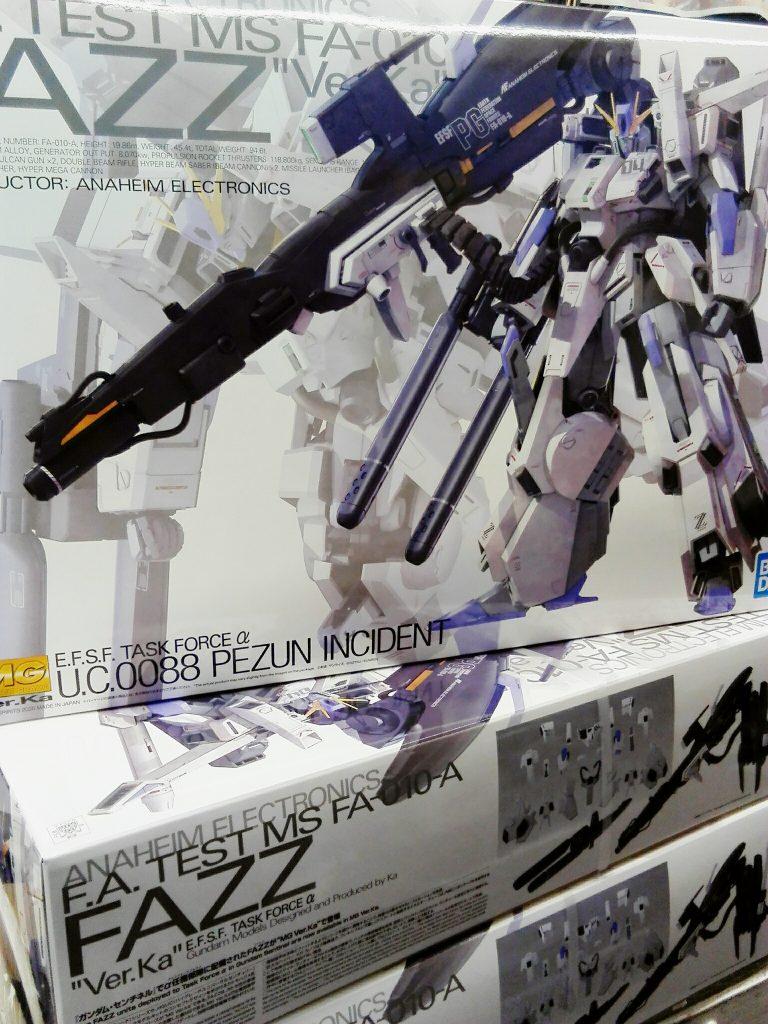 MG 1/100 FAZZ Ver.Ka 再入荷いたしました!