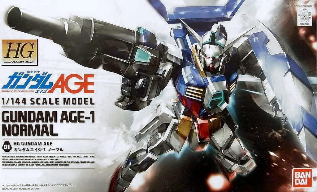 「HGガンダムAGE-1 ノーマル」入荷