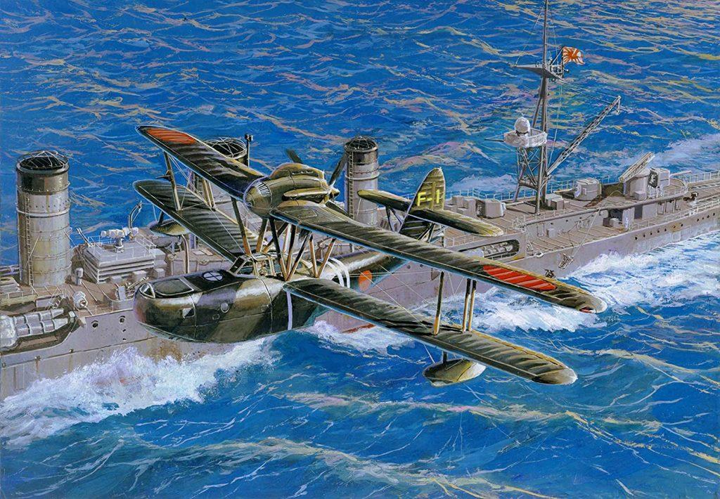 「愛知 九八式水上偵察機」入荷