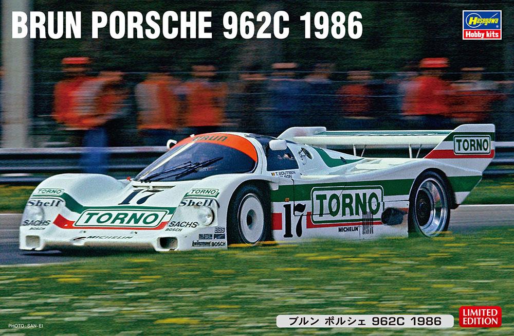 「ブルン ポルシェ 962C 1986」入荷