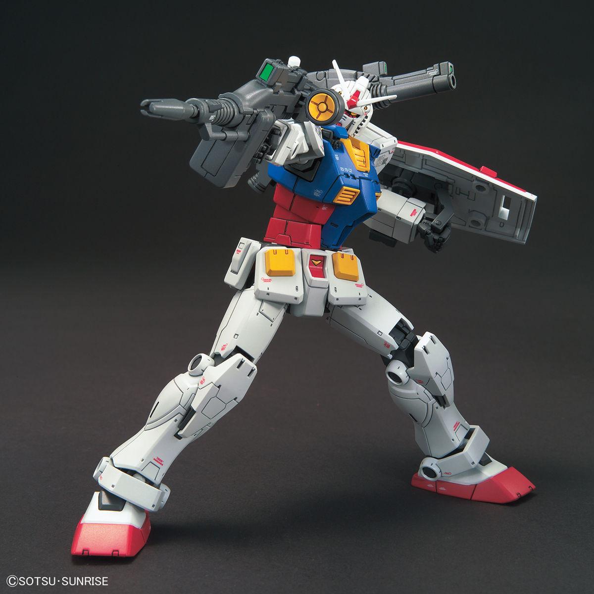 「HG 1/144 RX-78-02 ガンダム(GUNDAM THE ORIGIN版)」入荷