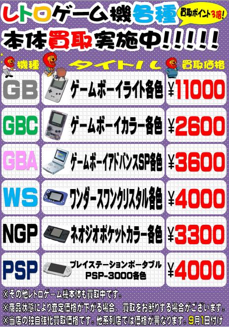 レトロゲーム本体・周辺機器買取募集中!!(=゚ω゚)ノ