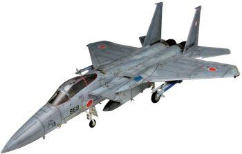 「航空自衛隊 主力戦闘機 F-15Jイーグル 迷彩型紙シート付」入荷