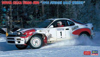 トヨタ セリカ ターボ 4WD `1993 スウェディッシュ ラリー ウィナー` 入荷