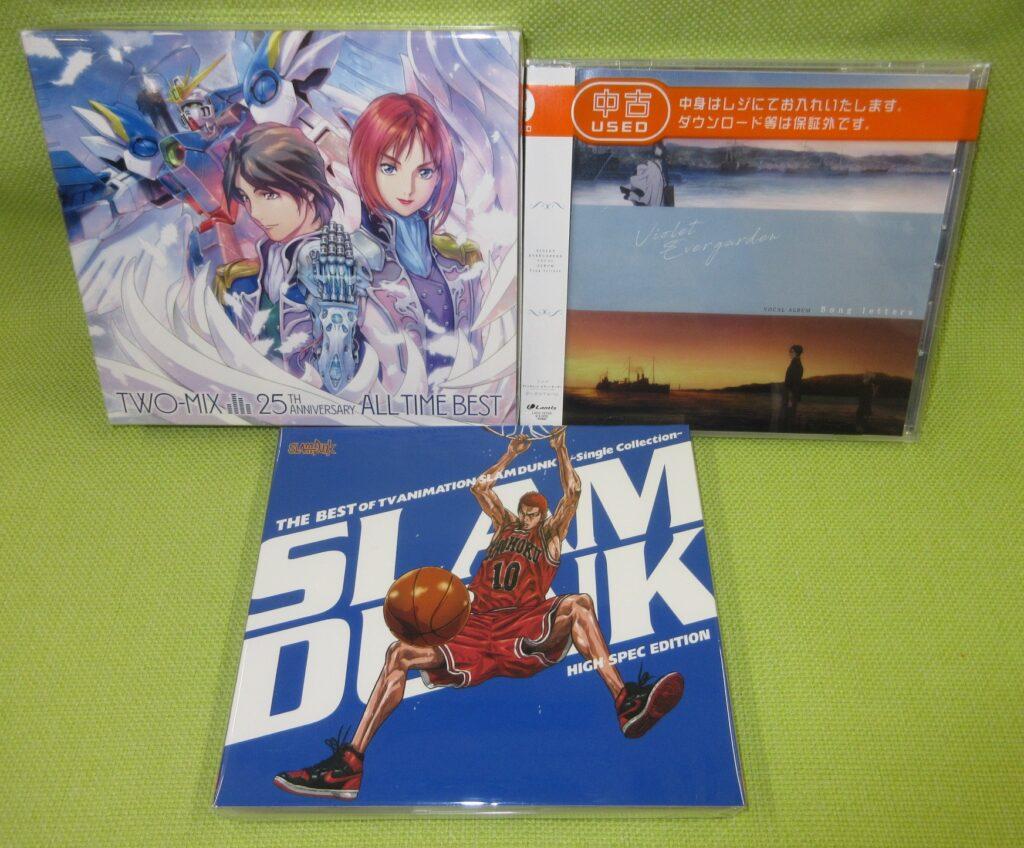 更にアニメ関連「音楽CD」も買取りさせて頂きましたヽ(≧ω≦)ノ