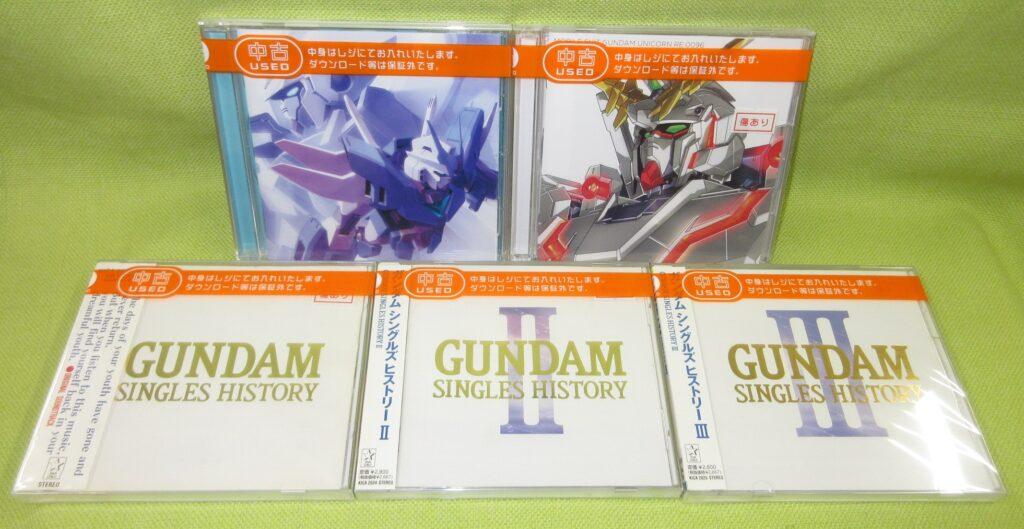 アニメ関連「音楽CD」も買取りさせて頂きましたヽ(≧ω≦)ノ