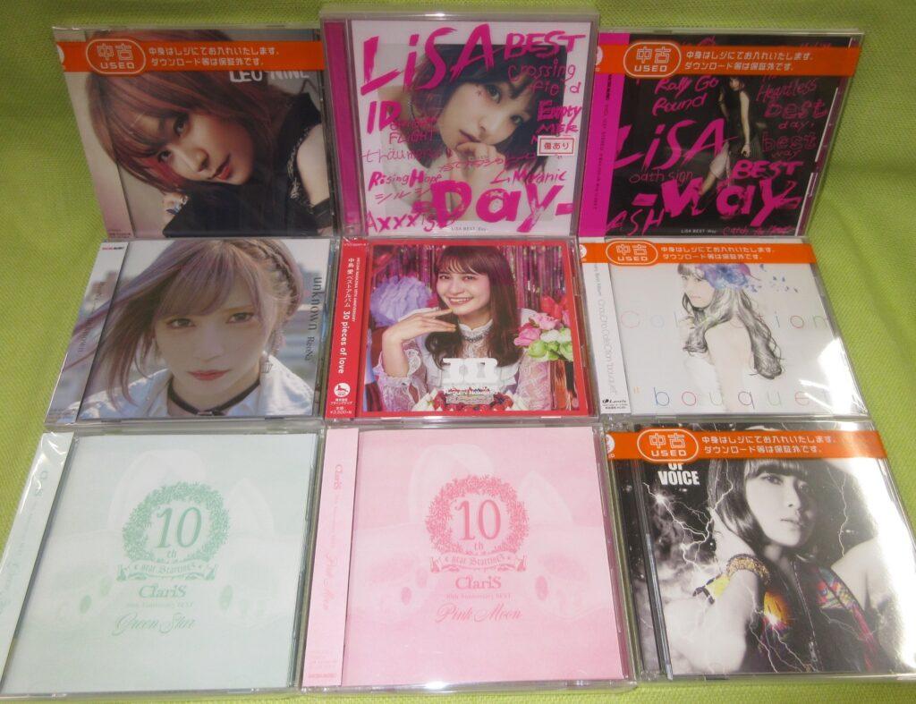 アニソンシンガー&声優関連「アルバムCD」買取りました(≧Д≦)
