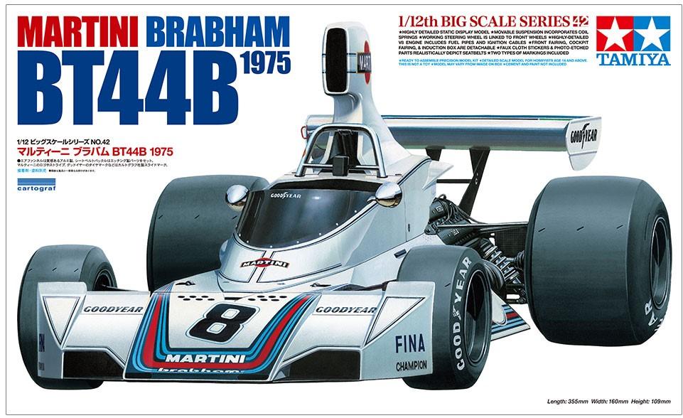 タミヤ「1/12 マルティーニ ブラバムBT44B 1975」