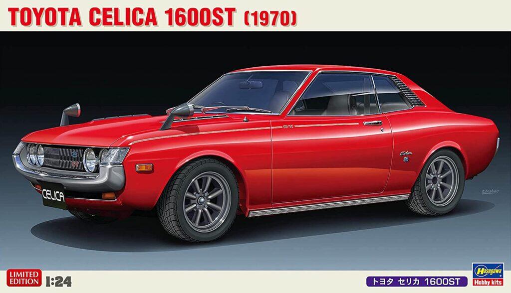 ハセガワ「1/24 トヨタ セリカ 1600ST」発売