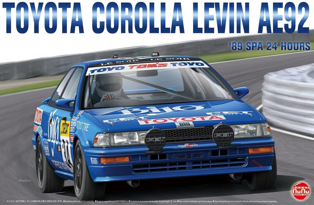 1/24 レーシングシリーズ トヨタ カローラ レビン AE92