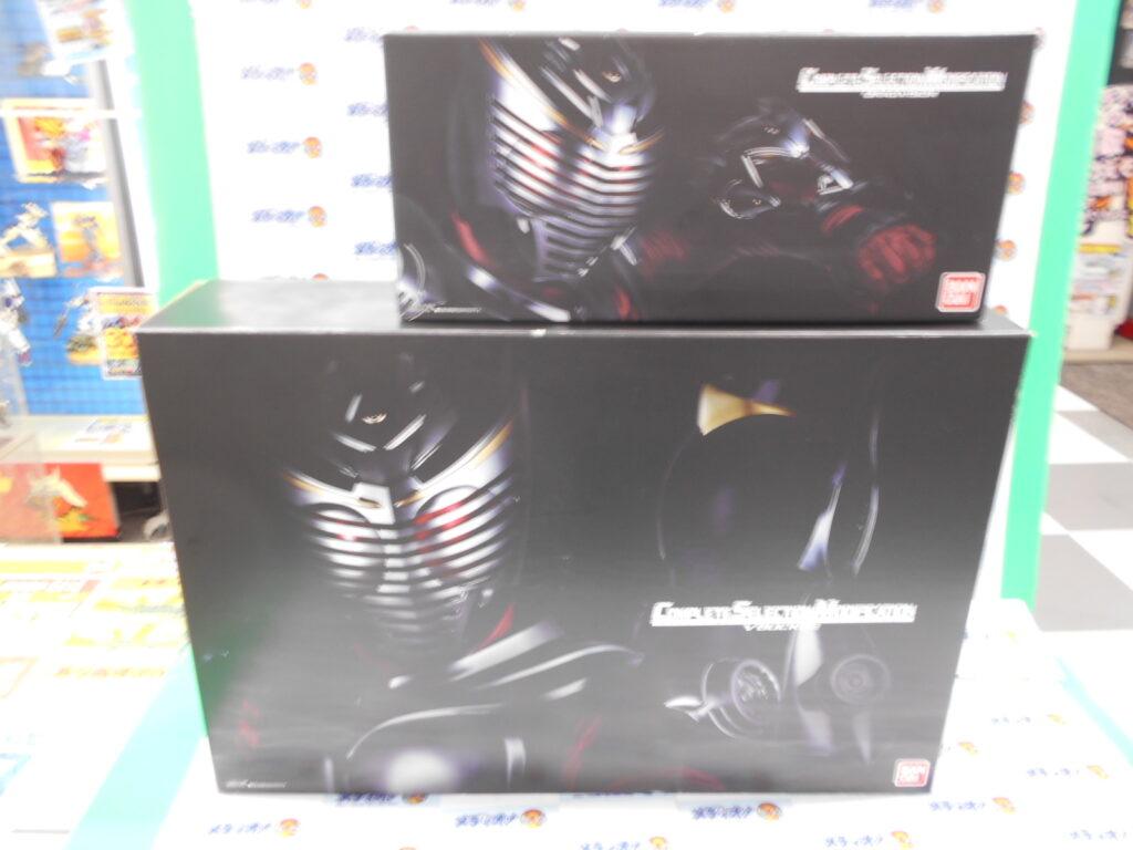 仮面ライダー龍騎関連のコンセレを買い取らせていただきました。