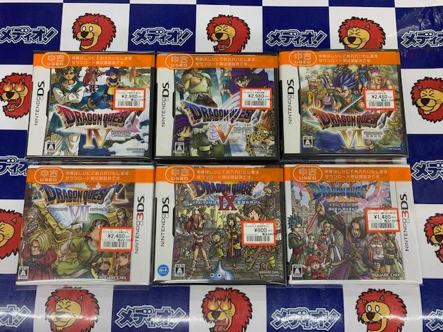 DS・3DSなゲームソフト買い取りました!!(=゚ω゚)ノ